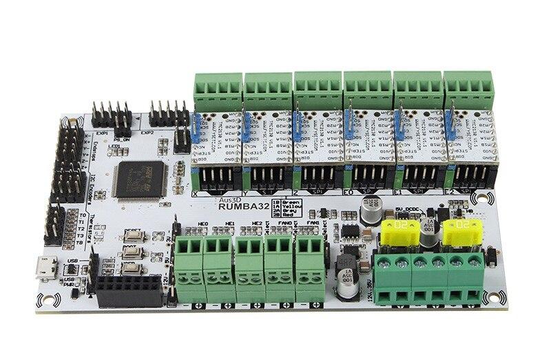 Placa de impressora 3d 32bit rumba32 rumba