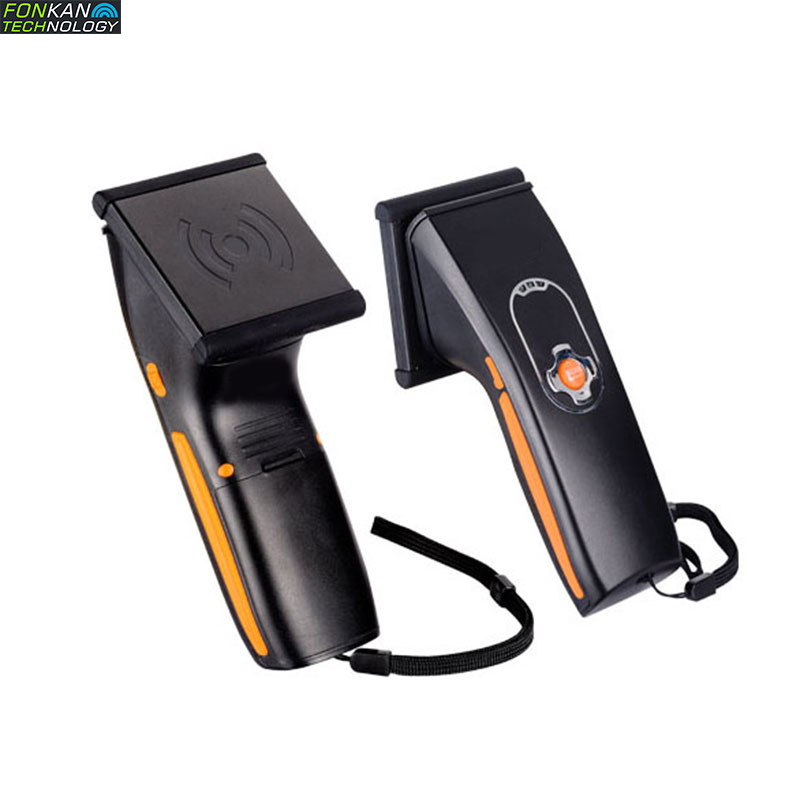 FH-75 UHF Bluetooth UHF Rfid Reader ISO-18000-6C Manual Scanner 2-3M Handheld Bluetooth Reader Built-in Antenna Provide SDK