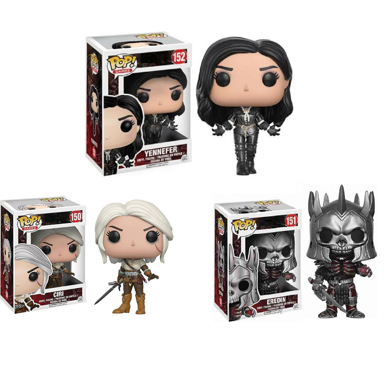Funko POP The Witcher 3 Wild Hunt PVC Action Action 10cm Collection Model Figures Kids Toys for Children Gifts Hot Toys