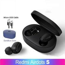 Airdots s tws fone de ouvido bluetooth para redmi xiaomi sem fio fone de ouvido para jogos com microfone reducado