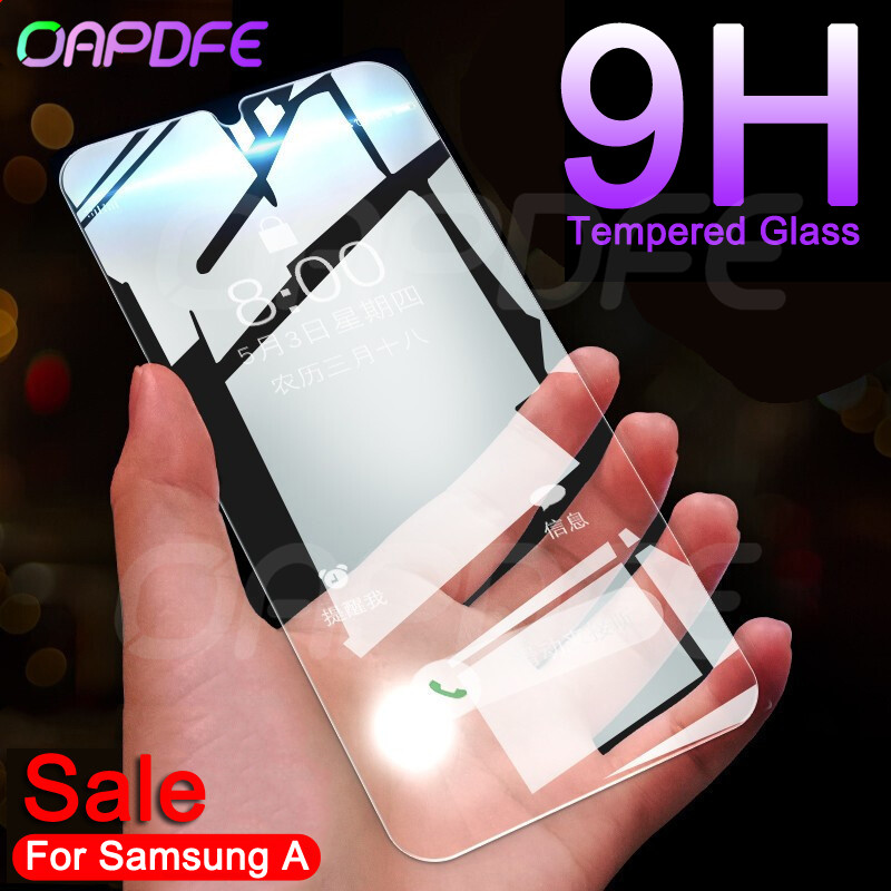 9H Protective Glass On The For Samsung Galaxy A20E A40S A10 A20 A30 A40 A50 A60 A70 A80 A90 Tempered Screen Protector Glass Film