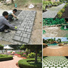 Garden Walk Pavement Mold Path Maker Mould Paving DIY Lawn Road Concrete Paving Garden Path Molds Cement Brick Stone discount