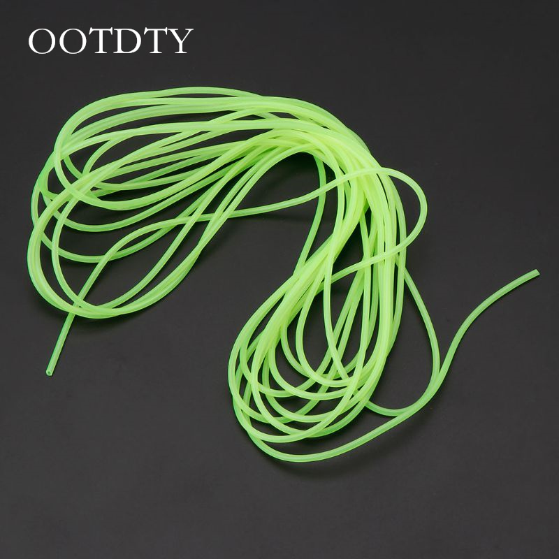 Fishing Night Luminous Tube Fluorescent 5m Glow Sub Line Rig Tackle Accessories Fishing Gear Fishing Accessories Fishing Tool