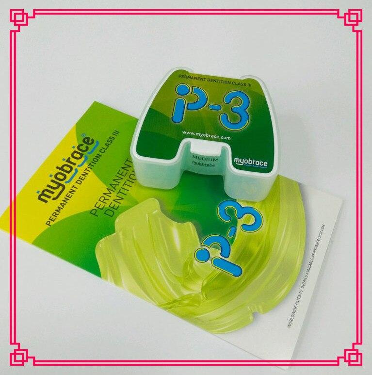 Myobrace P3 Trainer For Underbite / Dental Trainer Appliance For Malocclusion