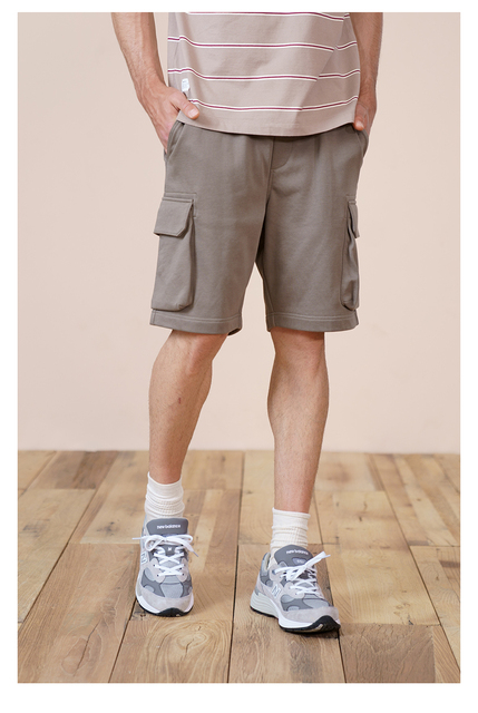 Summer Cargo Shorts with Multi-Pockets