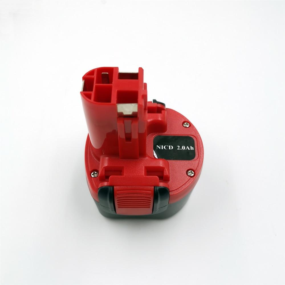 Аккумуляторная батарея для Bosch BH984 PSR GSR 9,6 BAT048 BPT1041 BAT100 BAT119 2 607 335 260 Ni-MH, аккумуляторная батарея для электрической дрели Bosch 9,6 в 2000 мАч