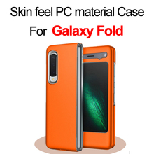 For Galaxy Fold PC material Case Flip Case Full Protection galaxy case fold case W20/W2020 case popsocket for mobile phones недорого
