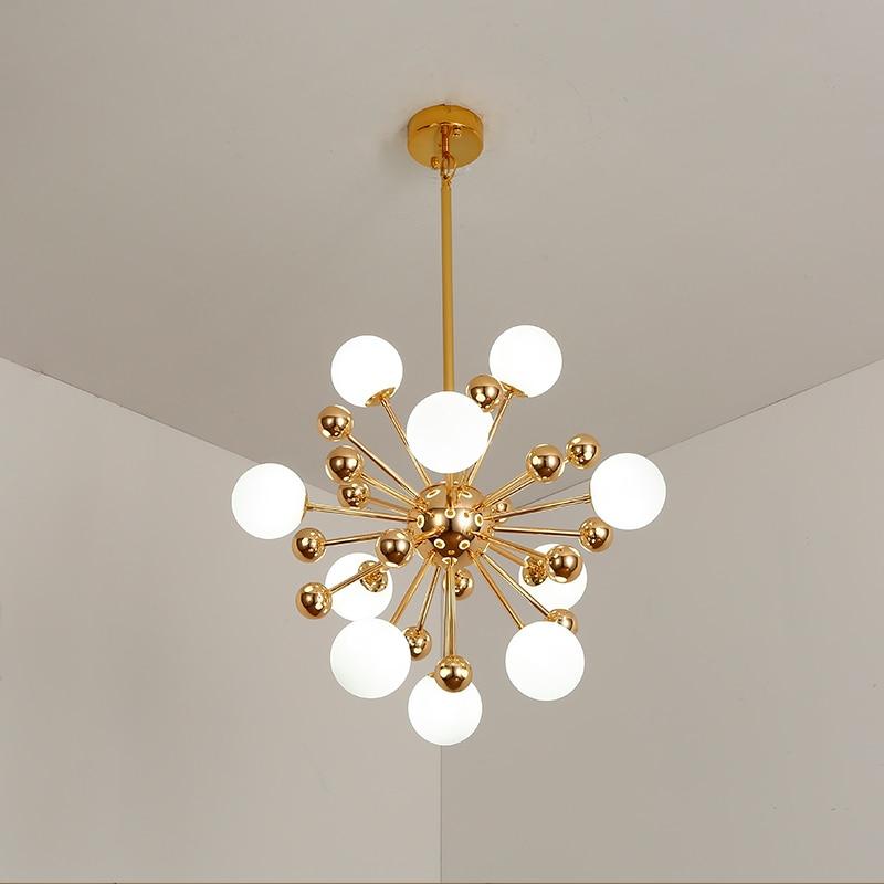 Art Creative Soap Bubble Clear Glass Ball Led Pendant Light Livingroom Bedroom Dining Room Designer Light Fixtures Free Shipping
