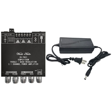 ZK TB21 TPA3116D2 Bluetooth 5.0 Subwoofer Versterker Boord 50WX2 + 100W 2.1 Kanaals O Stereo Versterker Board Us Plug