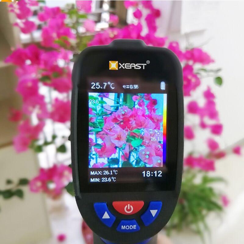 Professional Handheld Digital Thermal Imaging Camera With USB Interface 4