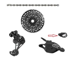 цена SRAM  GX EAGLE 1x12 10-50T speed Groupset Kit Trigger Shifter Rear Derailleur Cassette Chain