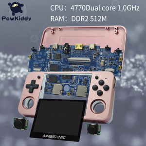 Image 2 - Powkiddy RG350 Handheld Game Console RG350M Metal Shell Console Open Source System 3.5 Inch IPS Screen Retro Ps1 Arcade 3D Games
