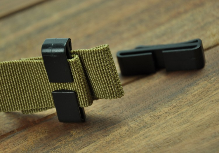5X25mm 38mm 50mm Quick Slip Keeper Plastic Buckle Webbing Ending Clips Adjusting Strap Belt Molle Tactical Backpack Camping