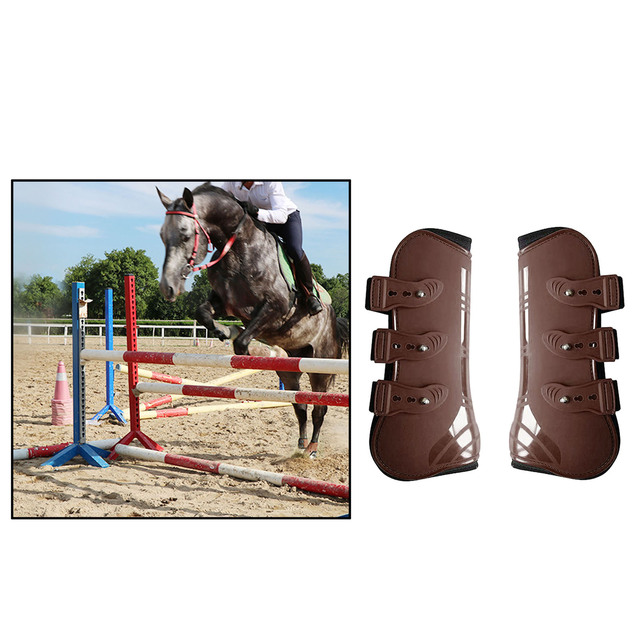 Tendon Boots Fit Snuggly For Your Horses Protection  4