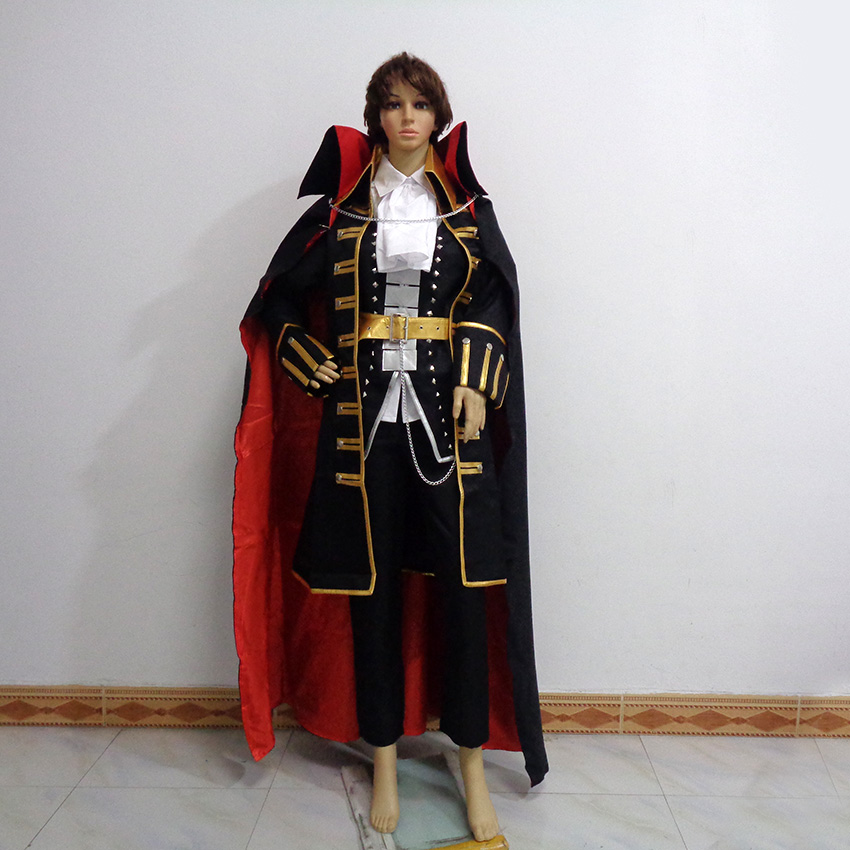 Castlevania Dhampir Alucard Cos Christmas Party Halloween Outfit Cosplay Costume Customize Any Size