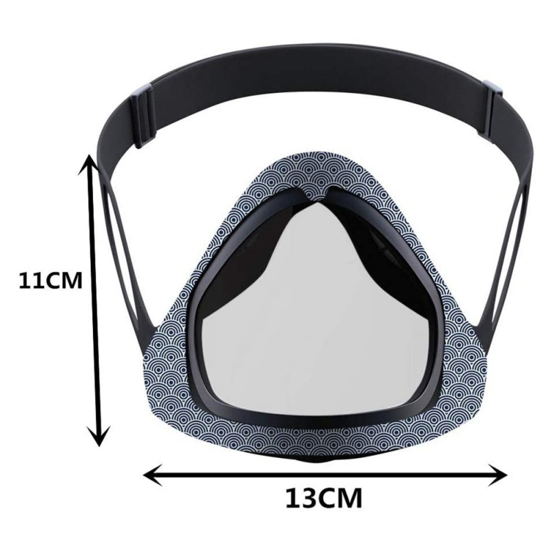 Protective Mask Unisex Reusable Mask with Transparent Layer Eat And Drink Anytime Anywhere Without Removing The Mask 6