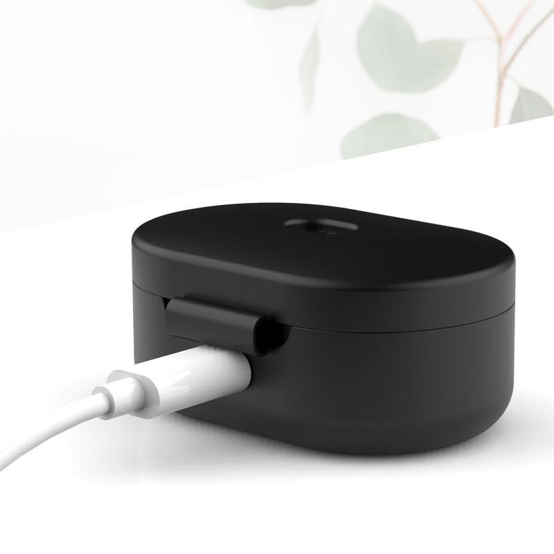 Sarung fon telinga silikon untuk fon kepala Xiaomi MI Redmi AirDots - Audio dan video mudah alih - Foto 2