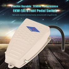 цена на Nonslip Metal Foot Pedal Switch Normally Open Momentary Control  Switch EKW-5A-B AC 380V DC220V 5A