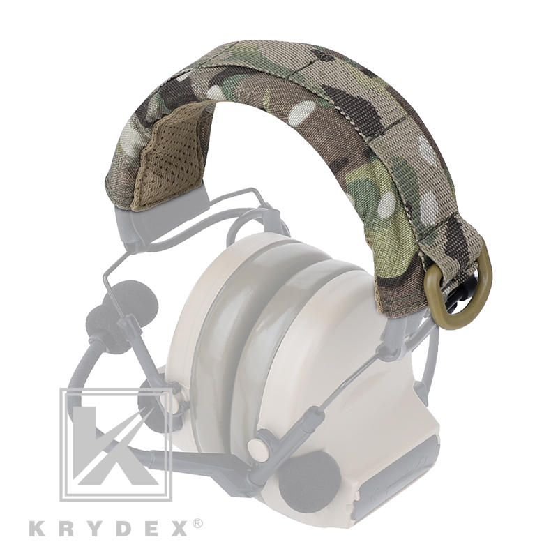 KRYDEX Headset Stand MOLLE Protection Cover For HOWARD MSA Tactical Modular Headband Earmuff Headphone Stand Protection Case MC