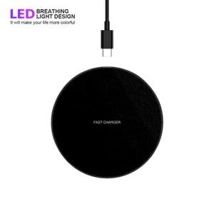Image 2 - Qi Wireless CHARGING Pad Station สำหรับ iPhone XR XS SE 2020 11 PRO MAX Samsung Note 10 S10 S9 15W Slim Fast การชาร์จ