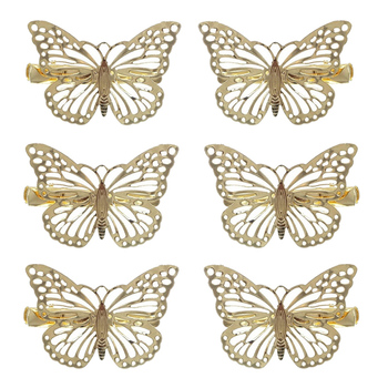 5Pcs Hair Jewelry Accessories Girls Headwear Metal Butterflies Hair Clips Grips Hairclips Hairpins Barrette Clamps For Hair Pins new arrival hot words hairclips melanin jealous blessed pitiless hair pins great quality hair accessories wholesale