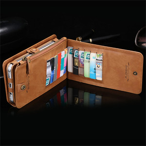 Image 4 - Flip Leather Case for Samsung Galaxy S20 Ultea S10 S9 S8 Plus S7 S6 Edge Zipper Wallet Cover for Samsung Note 20 10 9 8 5 Coque