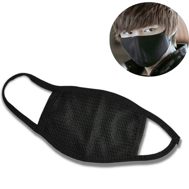 3pcs/lot Health Cycling Anti-Dust Mouth Mask Respirator Wearing Windproof Cotton Unisex Kpop Mask Bottle Mouth-Muffle Face