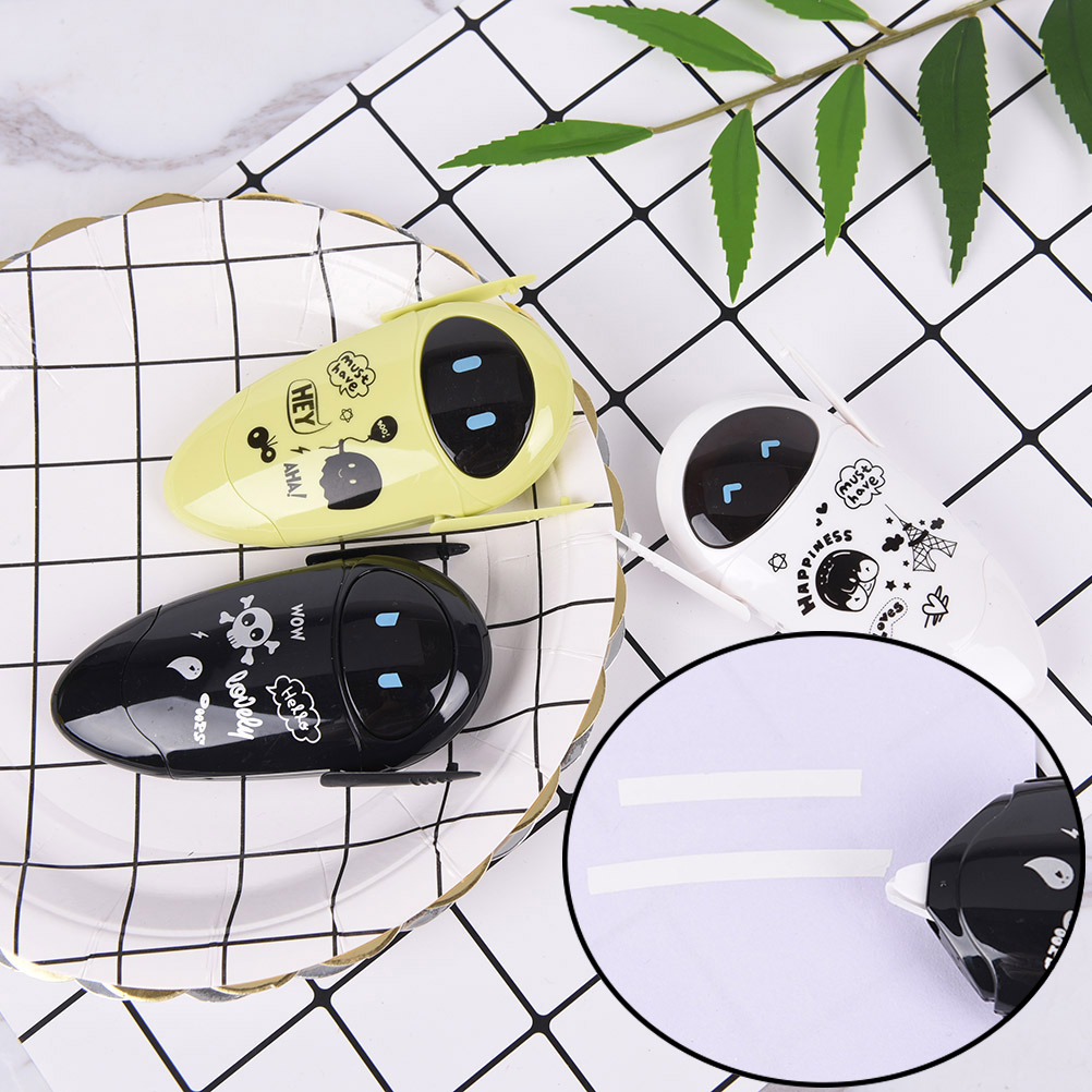 5mm*8m Kawaii Cartoon Plastic Correction Tape DIY Korean Stationery Cute For Kids Gift School Supplies  5mm*8m