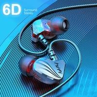 Olhveitra Verdrahtete Kopfhörer In-Ohr Für Computer iPhone Samsung PC 3,5mm Ohrhörer Auriculares Stereo Headset Gamer Handfree Mit mic