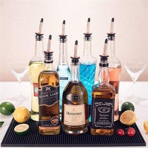Stainless Steel Wine Pourer Stopper Dispenser Bottle Caps Liquor Spirit Free Flow Spout Stopper Kitchen Bar Tools Eco-Friendly