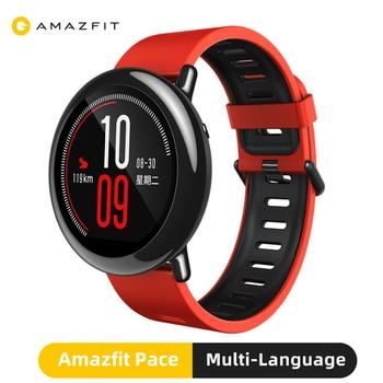 Reloj inteligente Original Amazfit Pace con GPS Bluetooth, rastreador deportivo de moda para exteriores, reloj inteligente para teléfono Xiaomi redmi IOS