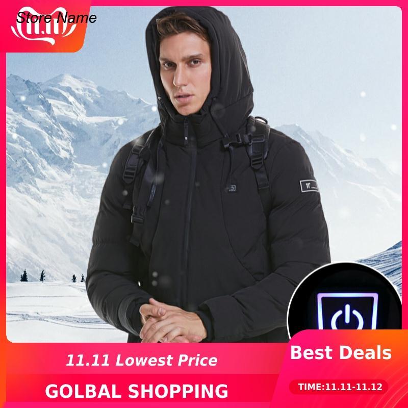 Men Women Electric Heated Jacket Tactical Vest Heating Coat USB Outdoor Heated Vest +size Thermal Warm Winter Jacket Veste
