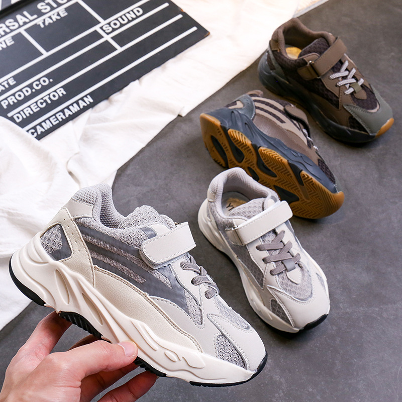 Children Boys Girls Mesh Trainers Sneakers Children Sport Running Athletic Shoes