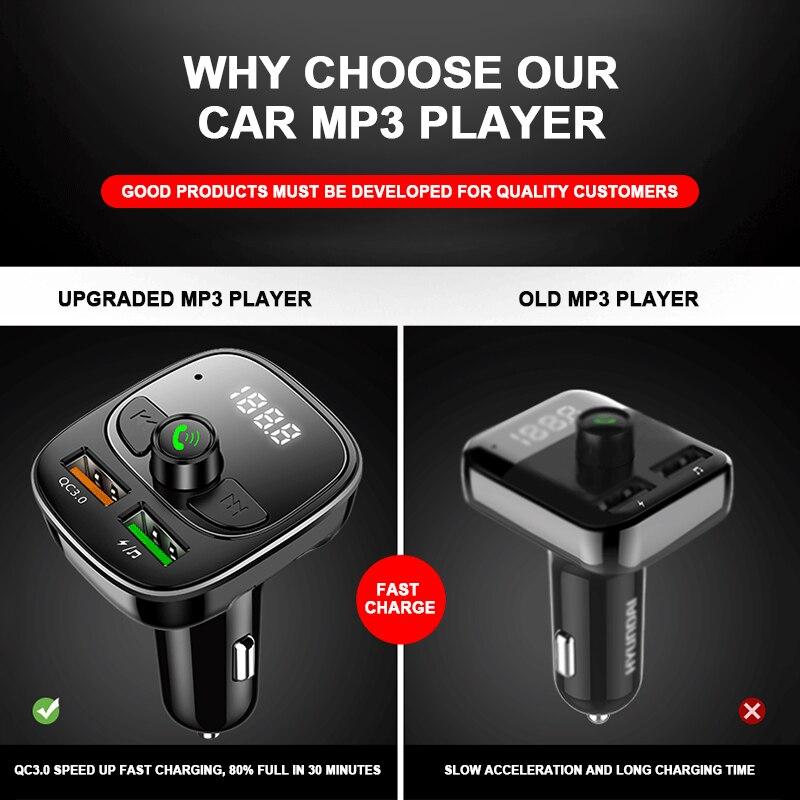 Купить автомобильное зарядное устройство fm передатчик модулятор автомобильный