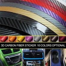 Pegatina de protección para puerta de coche, accesorios para coche, parachoques Interior de fibra de carbono, adornos a prueba de agua para motocicleta
