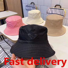 MZ-GLuxury unisex style bucket hat ladies fashion designer fisherman hat visor black outdoor travel hat 2021 new