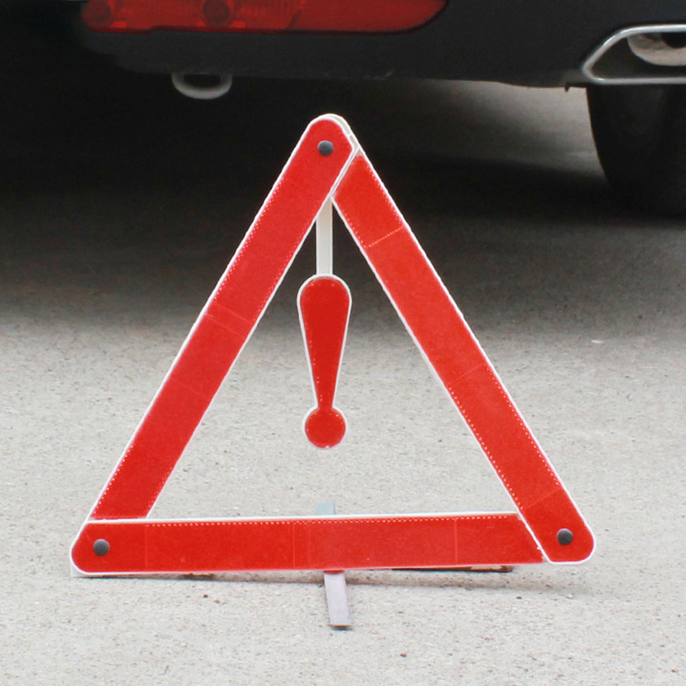 4 Pcs//Set Door Open Car Stickers Reflective Warning Pedestrians Safety RS