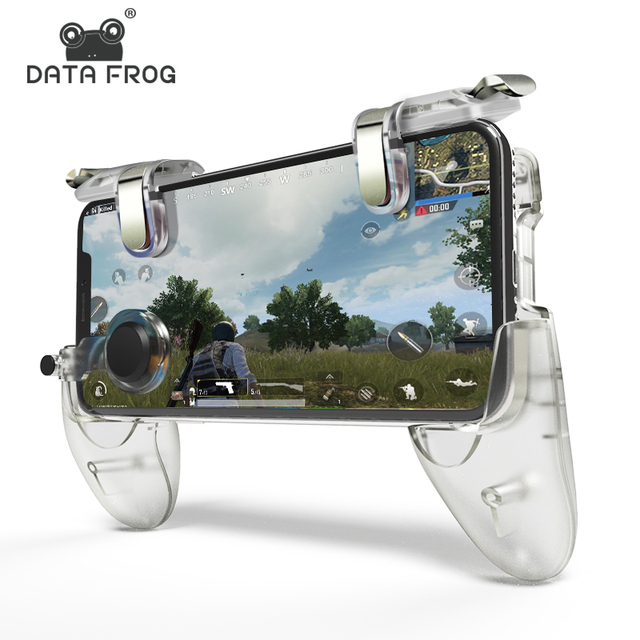 DATA FROG Game Controller Gamepad For PUBG L1R1 Shooter Trigger Fire Button Gamepad Joystick 1
