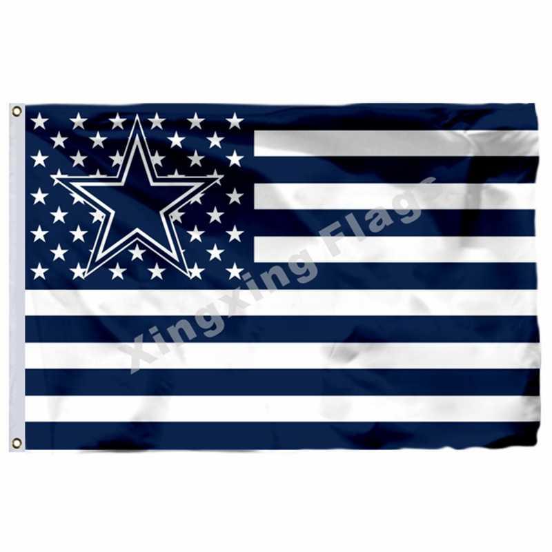 Dallas Cowboys Flagge 3ft x 5ft Polyester Banner Fliegen No.4 Größe 4 90X150cm Custom flagge
