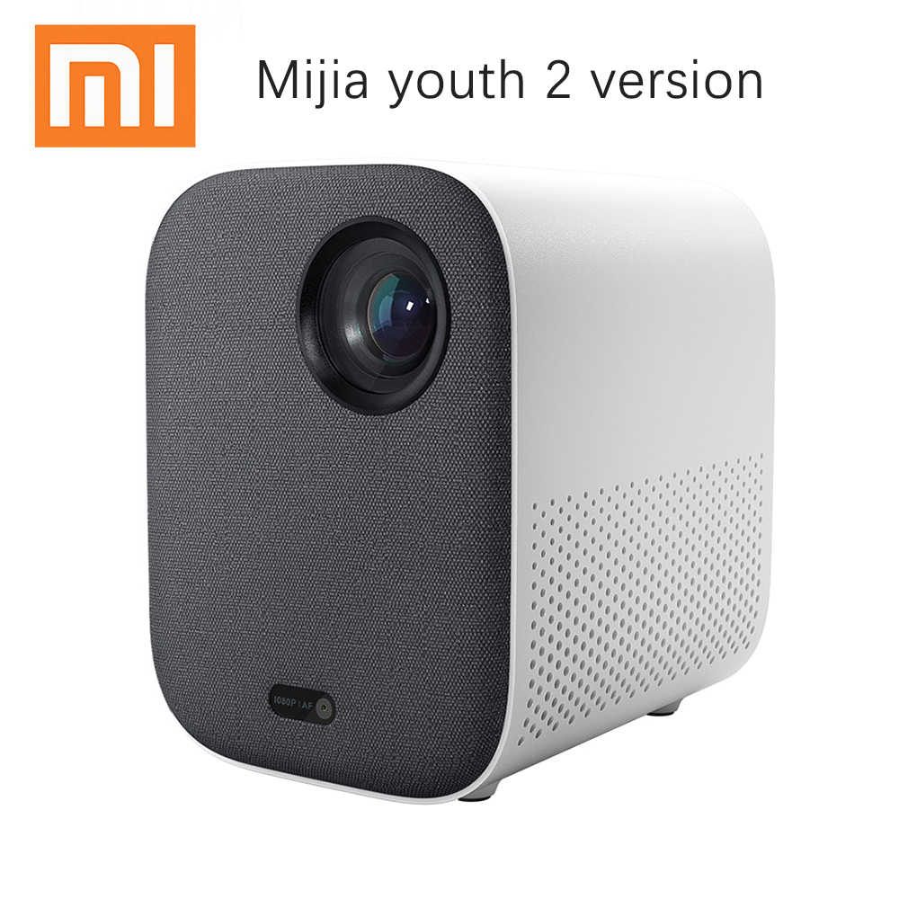 Xiaomi Mijia Mini Projector DLP Portable 1920*1080 Support 4K Video WIFI Proyector LED Beamer TV Full HD for Home Cinema Home Theatre System  - AliExpress