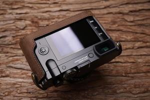 Image 4 - Leica Q Q2 MrStone New Leica Q Leather Case LEICA Q2 Camera Case No handle half set typ116