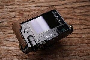 Image 4 - Leica Q Q2 MrStone Nuovo Leica Q Custodia In Pelle LEICA Q2 Cassa Della Macchina Fotografica Senza maniglia metà set typ116