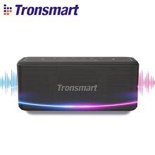 Tronsmart Mega Pro Bluetooth Lautsprecher 60W Tragbare Lautsprecher Verbesserte Bass TWS Spalte mit NFC, IPX5 Wasserdicht, stimme Assistent