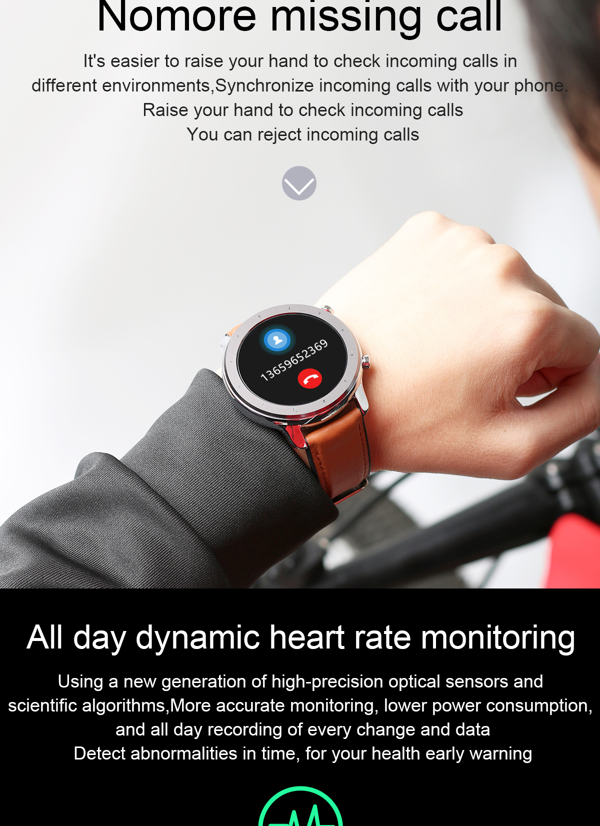 H83b68df4b95d4390a7b84942b29e3f5bW LEMFO 2020 Smart Watch Men Full Touch Screen  IP68