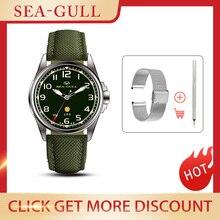 Seagull-relojes para hombre, de lujo, explorador militar, Seiko, automático, mecánico, del Ejército, 811.93.6106, 2021
