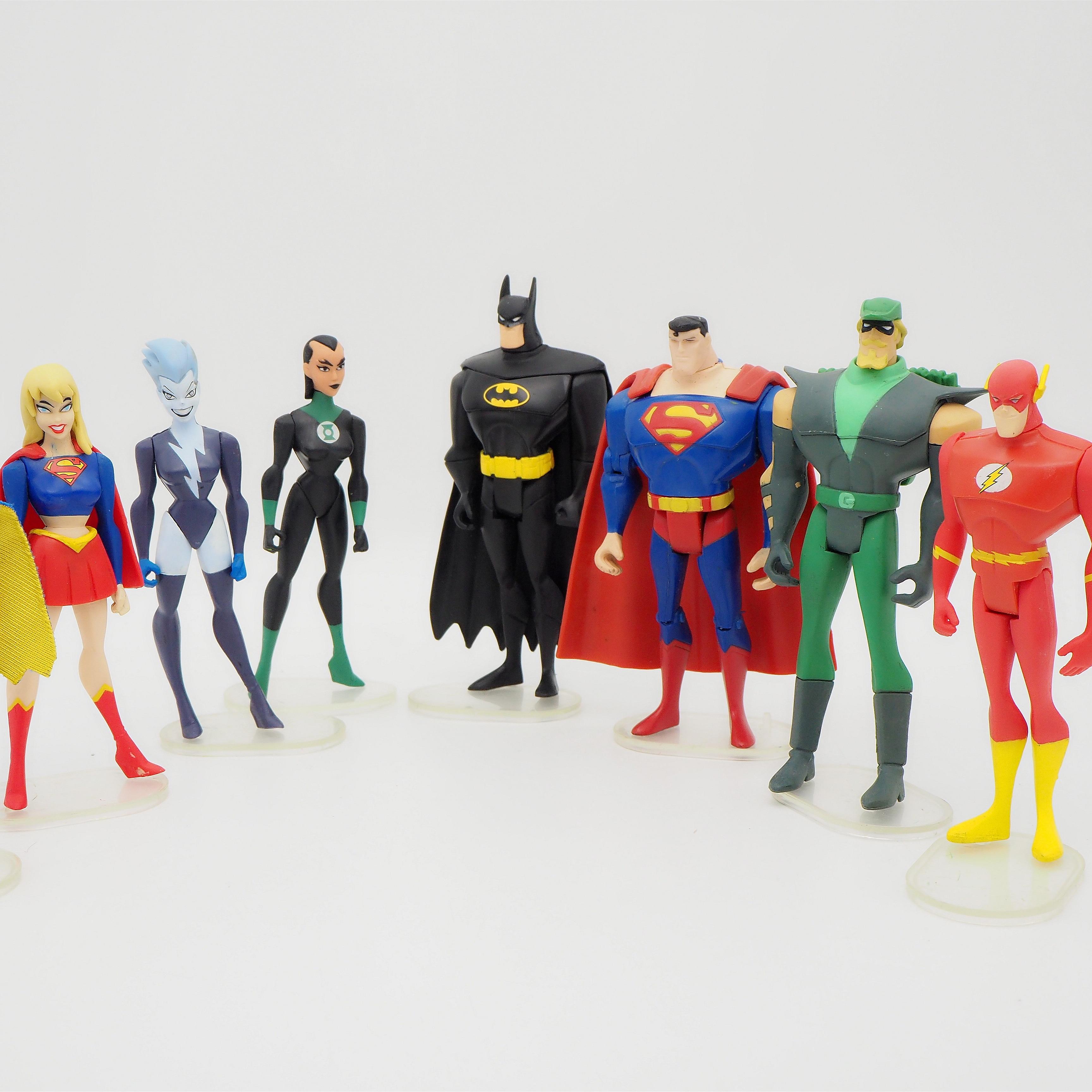 JUSTICE LEAGUE Avengers UNLIMITED DC Universe Super Hero Action Figures Toys 3.75inch