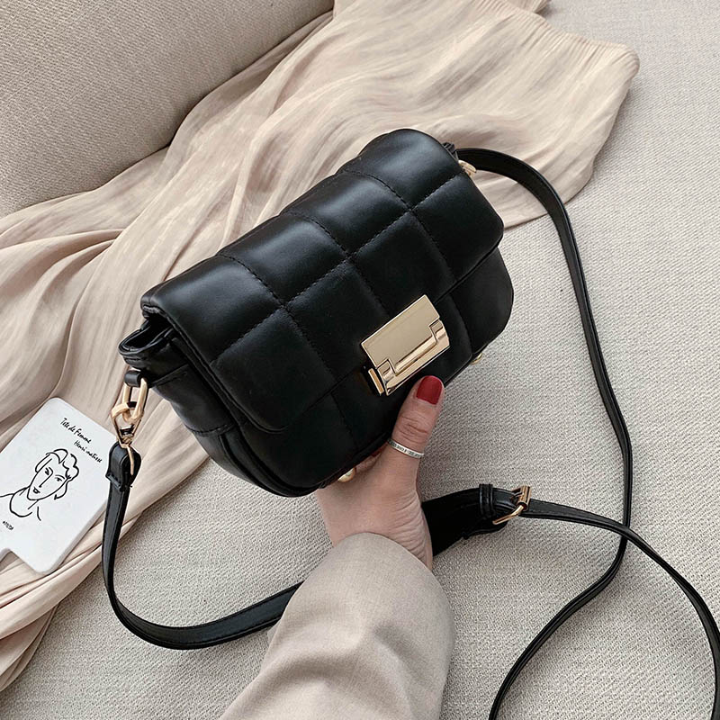 Solid Color PU Leather Crossbody Bags For Women 2020 Mini Handbags And Purses Lady Travel Small Shoulder Messenger Bag