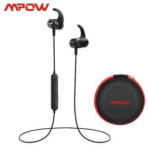 Image 1 - Mpow S10 IPX7 למי אוזניות ספורט Bluetooth 4.1 אוזניות מגנטיות 8H זמן משחק אוזניות עבור iPhone Xiaomi SONY