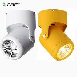 [Dbf] Macaron Opbouw Downlight Hoek Passen 7W 10W 15W 20W Plafond Spot Light AC110/220V Voor Keuken Woonkamer Decor