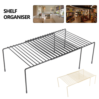 Adjustable Kitchen Storage Rack Cupboard Storage Shelf Home Closet Organizer Storage Shelf Wardrobe Shoe Organizers Saving Space